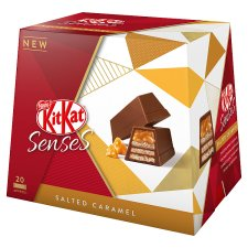 image 3 of Kit Kat Senses Salted Caramel Box 20 Pieces 200G