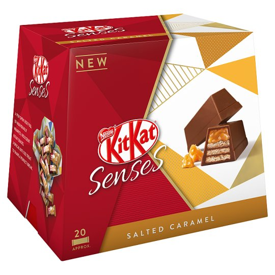 image 1 of Kit Kat Senses Salted Caramel Box 20 Pieces 200G