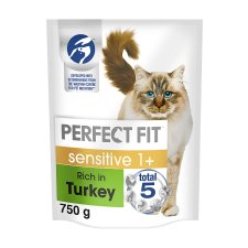 Perfect Fit Cat Complete Sensitive 1+ Turkey 750G
