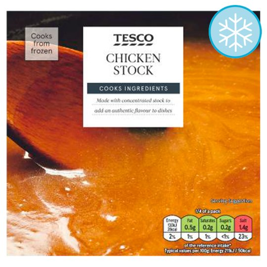 Tesco Chicken Stock 250G