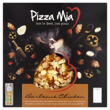Pizza Mia Bbq Chicken Halal Pizza 390 G