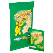 image 2 of Pom Bear Cheese And Onion 5 X 15G