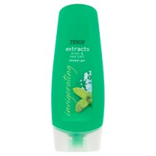 Tesco Extracts Mint And Sea Salt Shower Gel 250Ml