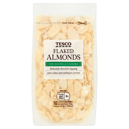 Tesco Flaked Almonds 100G