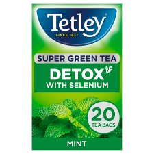 Tetley Super Green Detox Mint 20S 40G