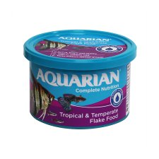 Aquarian Tropical Fish Flakes 50G