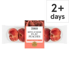 Tesco Flat Peach Minimum 4 Pack