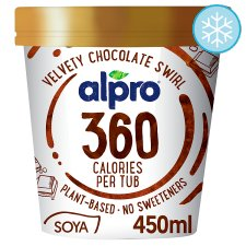 Alpro 360 Velvety Chocolate Ice Cream 450Ml