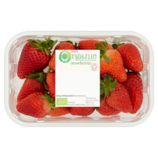 Tesco Organic Strawberries 227G