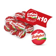 Mini Babybel Original Cheese Snacks 10X20g 200G