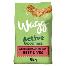 Wagg Worker Beef And Vegetable 5Kg