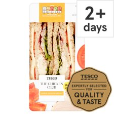Tesco The Chicken Club Sandwich