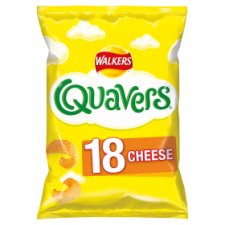 Walkers Quavers Cheese Snacks 18 X 16G