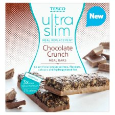 Tesco Ultra Slim Meal Replacement Chocolate 3 Bars