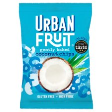 Urban Fruit Coconut Chips Straight Up 25G