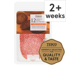 Tesco German Salami Slices 125G