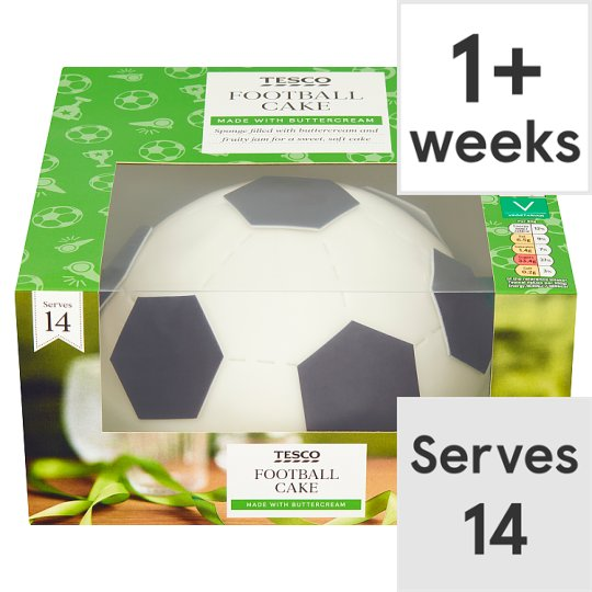 Tesco Football Cake Groceries Tesco Groceries