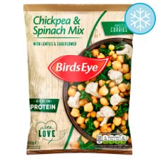 Birds Eye Chickpea Spinach Vegetable Mix 450G