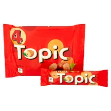 image 2 of Topic Chocolate Multipack 4 X47g