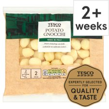 Tesco Fresh Potato Gnocchi Pasta 400 G