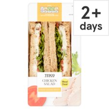 Tesco Chicken Salad Sandwich