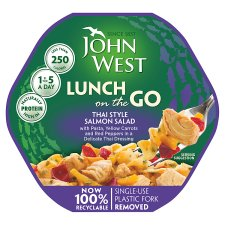 John West Steam Pot Thai Style Salmon Salad 220G