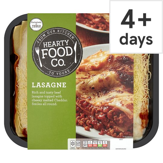 Hearty Food Company Lasagne 1.5Kg