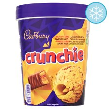 Cadbury Crunchie Ice Cream 480Ml