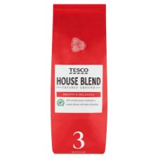 Tesco House Blend Ground Coffee 454G