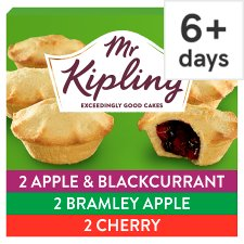 Mr Kipling Fruit Pie Selection 6 Pack