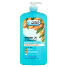 Natural World Argan Oil Conditioner 1000Ml