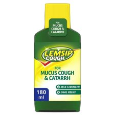 Lemsip Mucus Cough Liquid 180Ml