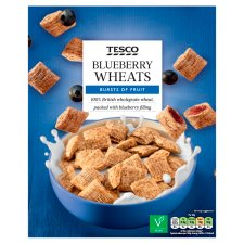 Tesco Blueberry Wheats Cereal 500G