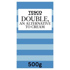 Tesco Long Life Double Cream Alternative 500G