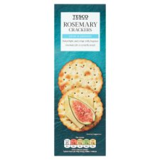 Tesco Rosemary Cracker 185G