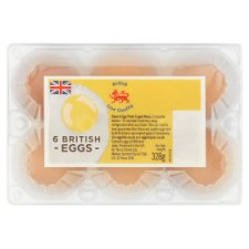 Tesco 6 Eggs