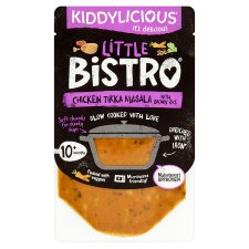 Kiddylicious Little Bistro Chicken Tikka Masala 180G
