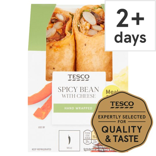 Tesco Spicy Bean Wrap