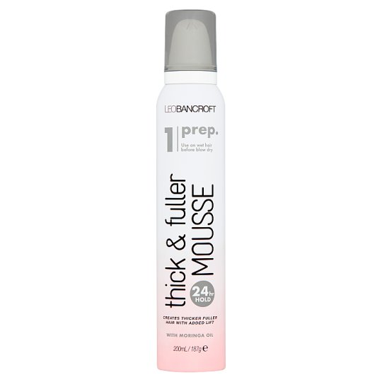Leo Bancroft Thick And Full Mousse 200Ml