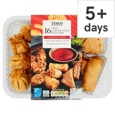 Tesco 16 Piece Chinese Selection 322G