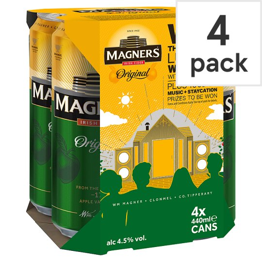 Magners Apple Cider 4X440ml Can