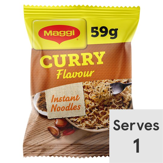 6d6fafdf429a Maggi 3 Minute Noodles Curry Flavour 59G - Tesco Groceries
