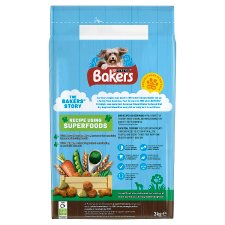 image 2 of Bakers Dog Food Chicken And Vegetable 3Kg