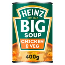 Heinz Big Chicken And Vegetable Soup 400G