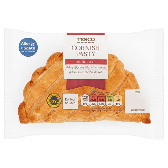 Tesco Cornish Pasty 130G
