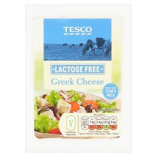 Tesco Lactose Free Greek Salad Cheese 200G