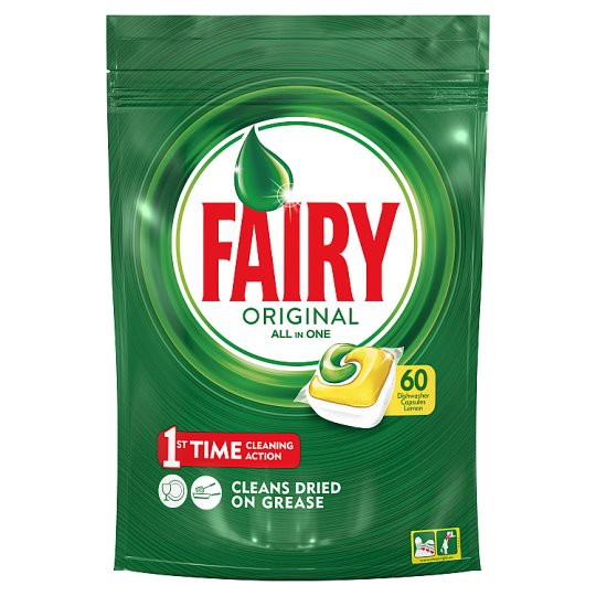 Fairy All In One Lemon 60 Dishwasher Tablets