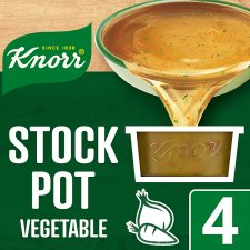 Knorr Vegetable Stock Pot 4 X 28G