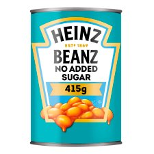 Heinz Baked Beans No Added Sugar In Tomato Sauce 415G