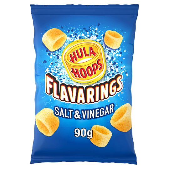 Hula Hoops Salt And Vinegar Flavarings 90G